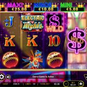 electric nights slot game