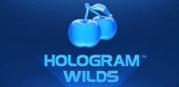 hologram wilds slot logo