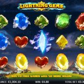 lightning gems slot main game