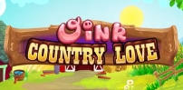 oink country love slot logo