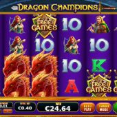 dragon champions slot game