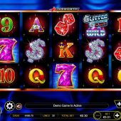 glitter gems slot game