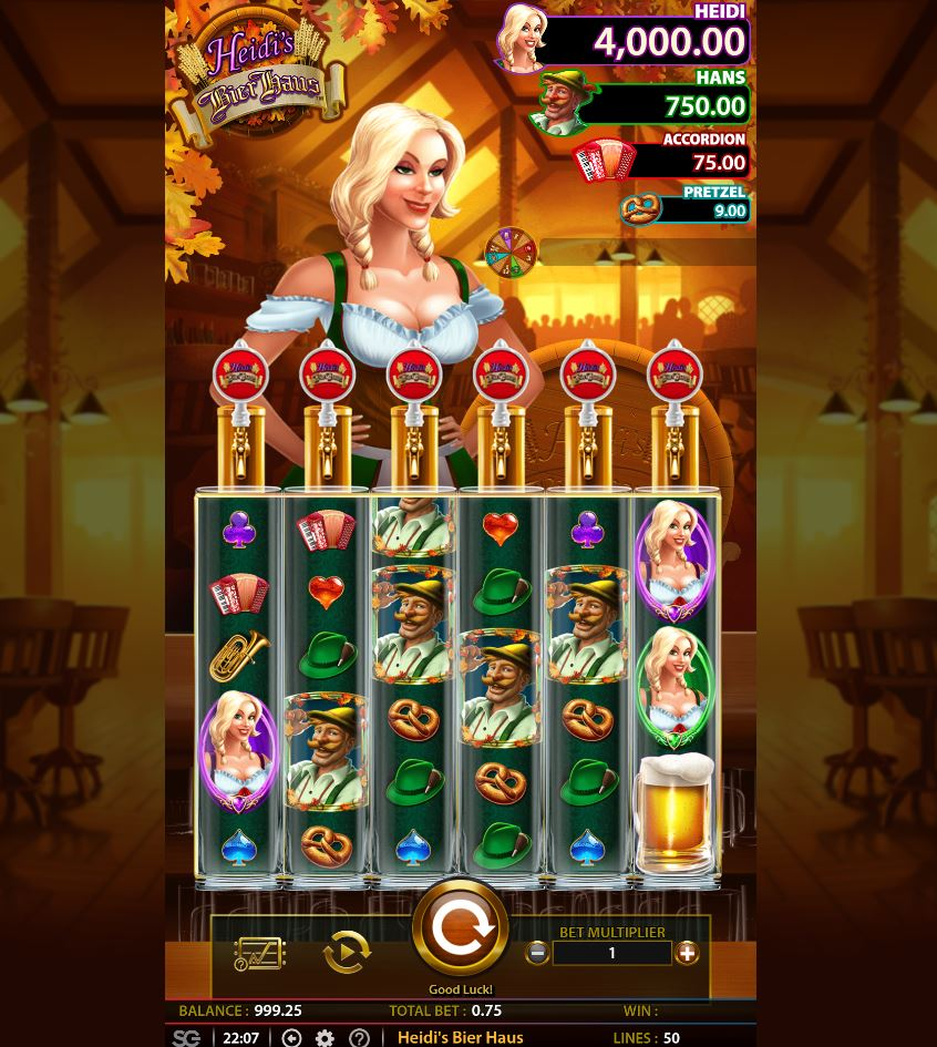 Heidi S Beirhaus Slot From Wms 6 Reel Game Play Online