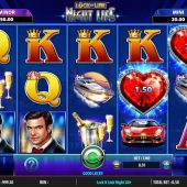 night life slot game