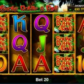 snake rattle and roll slot game