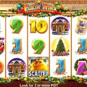 foxin wins christmas slot game