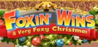 foxin wins christmas slot logo