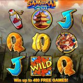 samurai split slot game