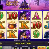 spooky house slot game