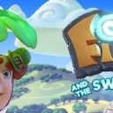 finn and swirly spin slot logo