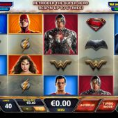 justice league slot game