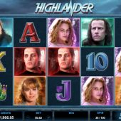 highlander slot game