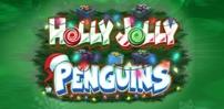 Cover art for Holly Jolly Penguins slot