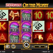 monopoly on the money slot game