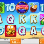 spinions beach party slot game