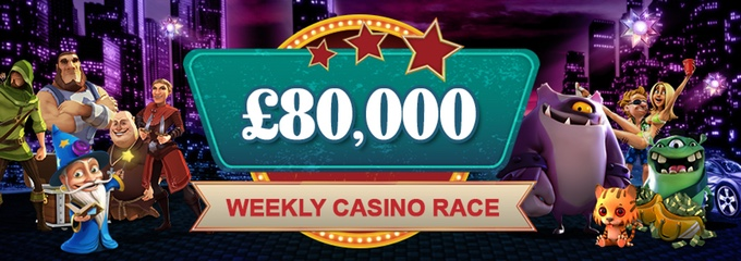 videoslots.com weekly casino race promotion
