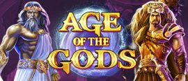age of the gods slot logo