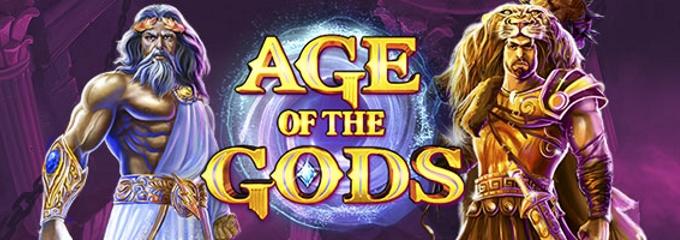 age of the gods slot logo