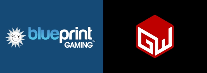 blueprint gaming logo and gw games logo