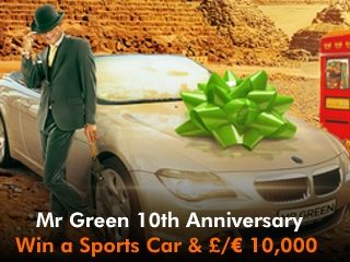 mr green 10 year celebration mobile slider