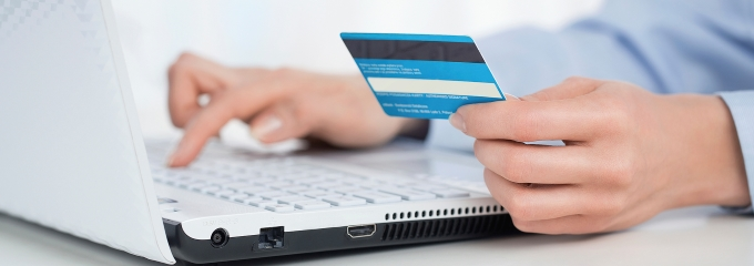 paying online using credit card