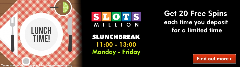 slotsmillion lunch break desktop slider