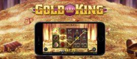 gold king slot on mobile
