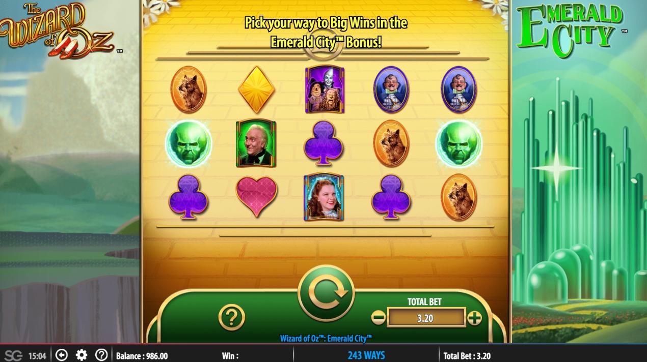 Emerald City Slot