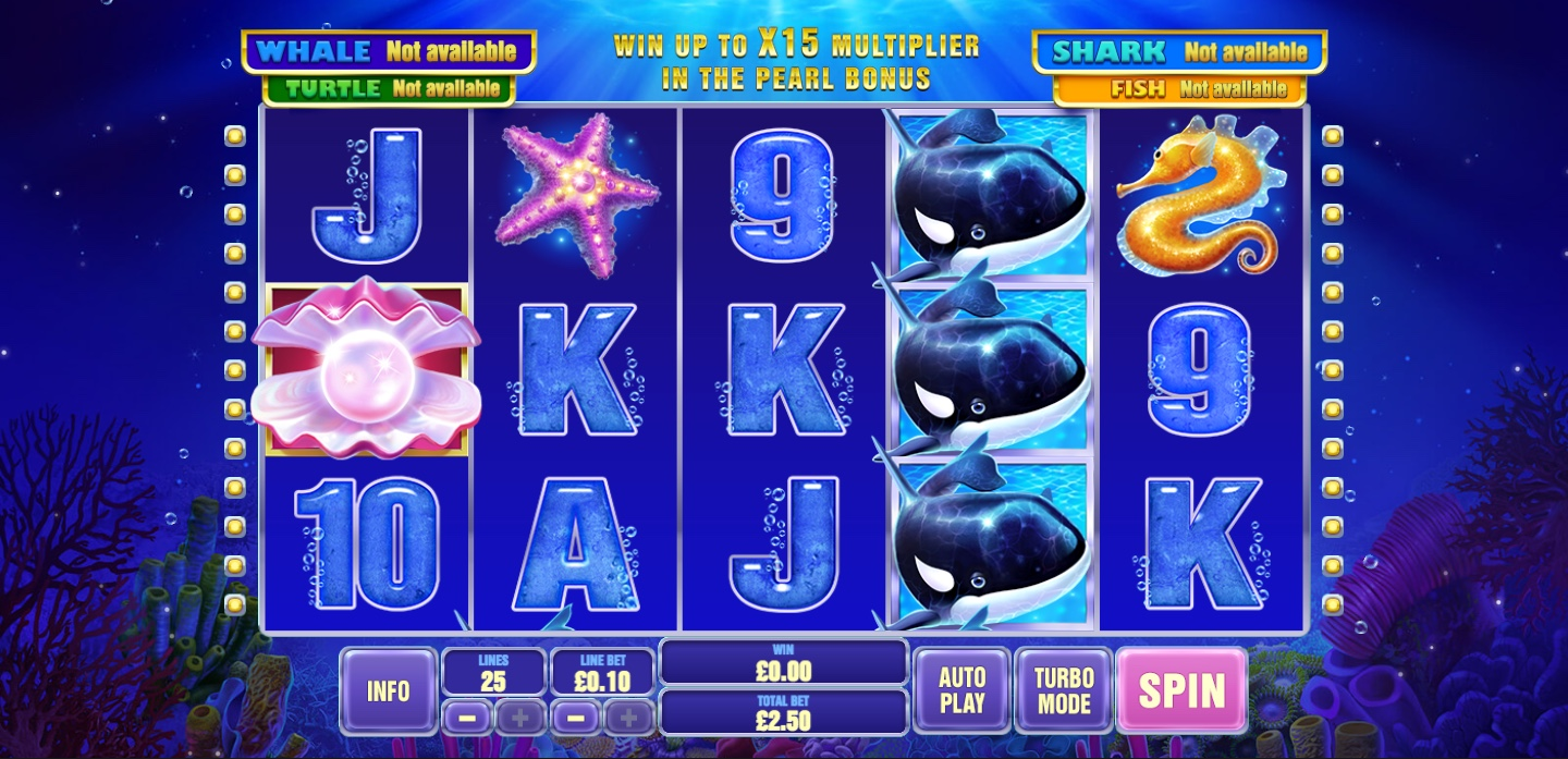 Great Blue Jackpot slot from Playtech play online free