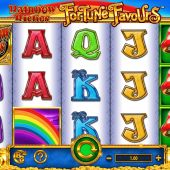 rainbow riches fortune favours slot game