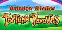 Cover art for Rainbow Riches Fortune Favours slot
