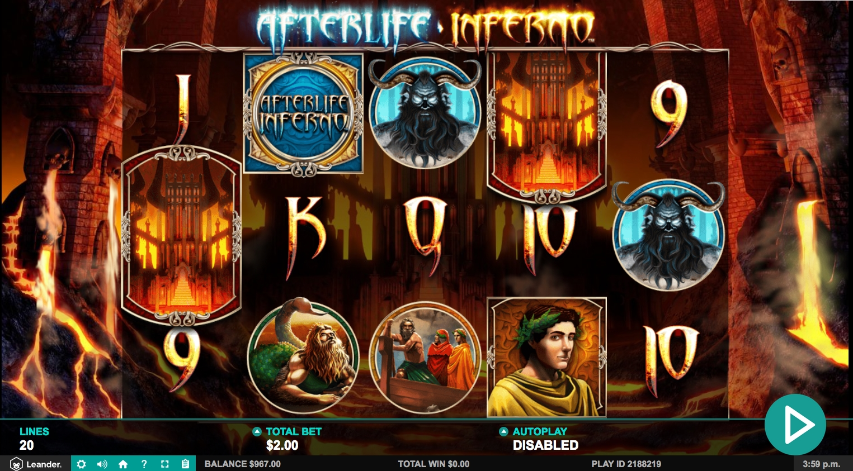 afterlife inferno slot game