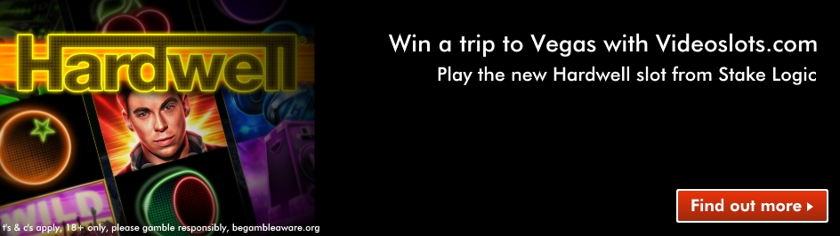 win a trip to vegas in 2018 with Hardwell desktop slider