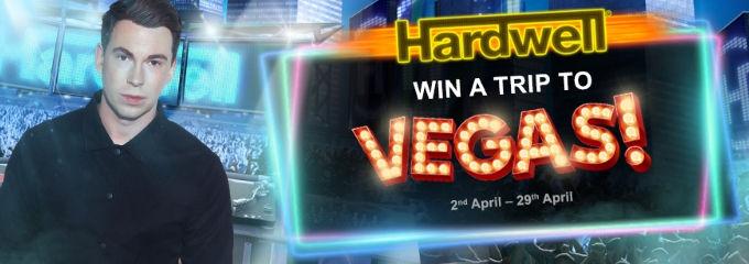 win a vegas trip in 2018 with Hardwell slot