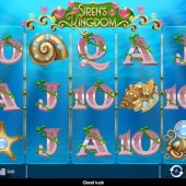 sirens kingdom slot game