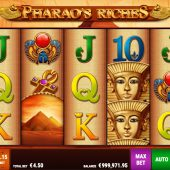 pharaos riches slot game