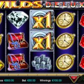 wilds deluxe slot game