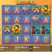 blaze of ra slot game