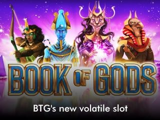 book of gods mobile slider