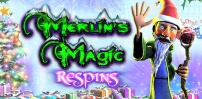Cover art for Merlin's Magic Re-spins Christmas slot