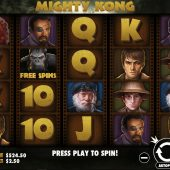 mighty kong slot game