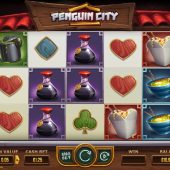 penguin city slot game