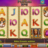 pharaohs ring slot game