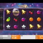 sevens high slot game