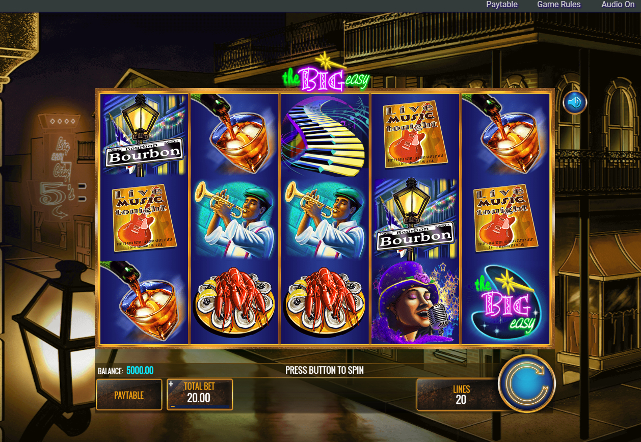 Slot big easy