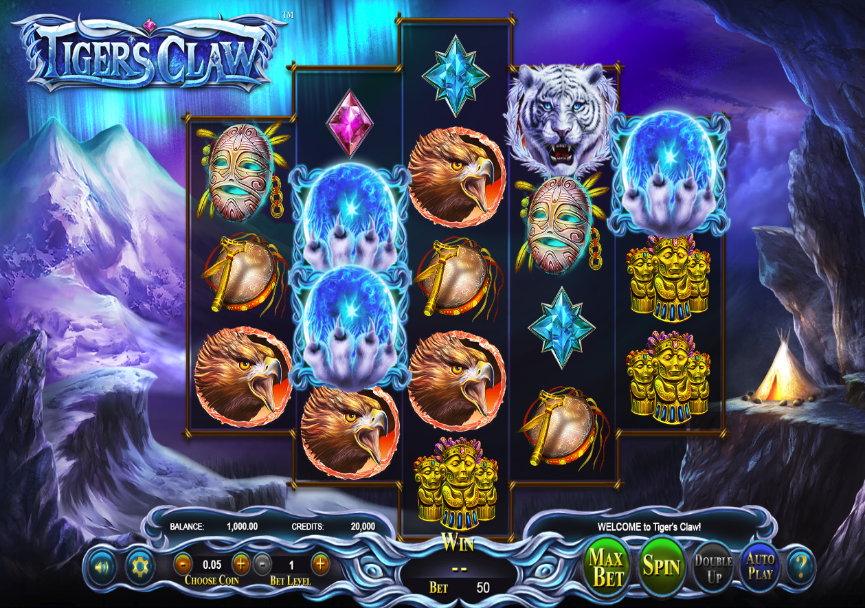 Travel to the orient playing tiger claw slots web online