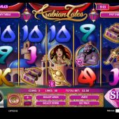 arabian tales slot game
