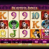 beautiful bones slot game