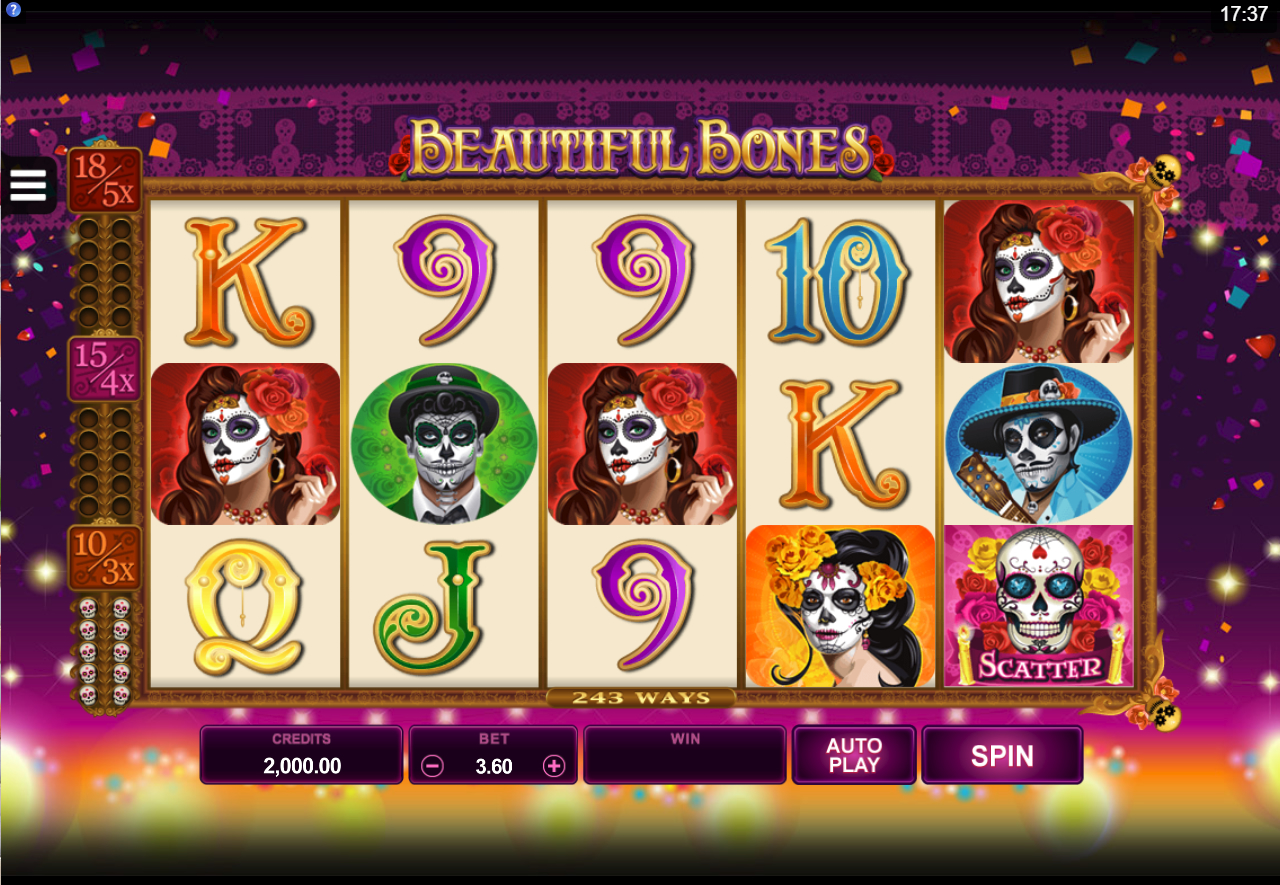 Spiele Beautiful Bones - Video Slots Online