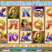 cleopatra's pyramid slot game